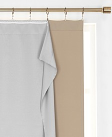 "Extra Wide Thermal Blackout Curtain Liner, 40""x80"""