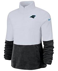 Women's Carolina Panthers Half-Zip Therma Fleece Pullover