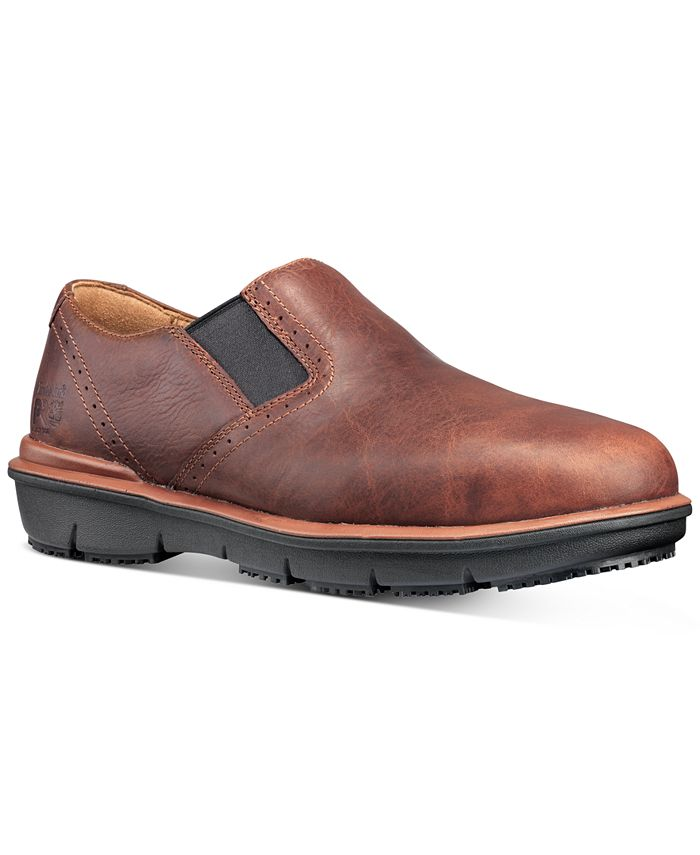 Timberland - Men's PRO Boldon Alloy Toe Work Loafers