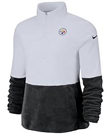 Women's Pittsburgh Steelers Half-Zip Therma Fleece Pullover