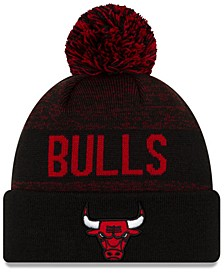 Chicago Bulls Blackout Speckle Knit Hat