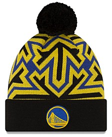 Golden State Warriors Big Flake Pom Knit Hat
