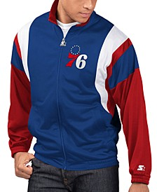 Men's Philadelphia 76ers The Contender Track Jacket