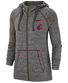 Women's Washington State Cougars Gym Vintage Full Zip Jacket