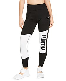 Colorblocked Logo Leggings