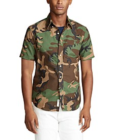 Men's Big & Tall Classic Fit Camo Shirt