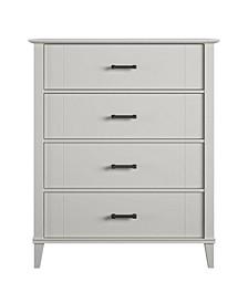 Novogratz Hazelridge 4 Drawer Dresser