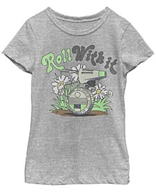 Big Girls D-O Roll With It Short Sleeve T-Shirt