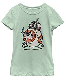 Big Girls BB-8 A Light in The Darkness Short Sleeve T-Shirt