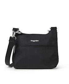 Anti-Theft Charter Crossbody Bag