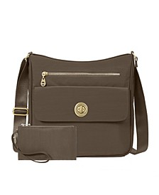 Antalya Top Zip Flap Crossbody