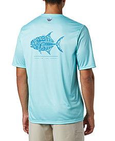 Columbia Men's PFG Terminal Tackle Tribal Fish T-Shirt