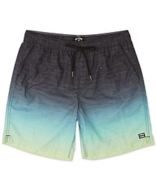 "Men's All Day Fade Layback Micro Repel Ombré 17"" Board Shorts"