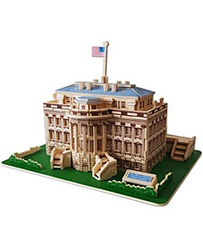 the White House Natural Wood Puzzle