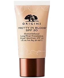 Pretty In Bloom Flower-Infused Long-Wear Foundation SPF 20, 1-oz.