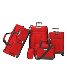 Drake 5-Pc. Premium Softside Luggage Set
