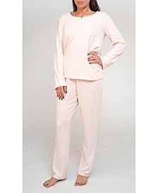 Long Sleeve Top and Pant Pajama Set, Online Only