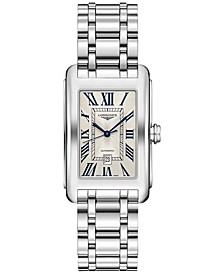 Women's Swiss Automatic DolceVita Stainless Steel Bracelet Watch 27.7x43.8mm