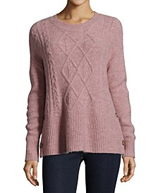 Petite Side-Button Sweater