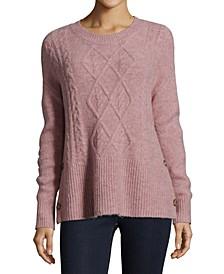 Petite Side-Button Sweater