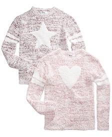 Big Girls Eyelash Sweaters, Created For Macy's