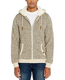 Men's Fortino Full-Zip Sherpa-Lined Hoodie