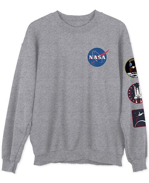 Hybrid NASA Men's Graphic Sweatshirt