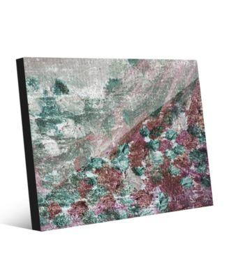 "Poseidon's Grace Abstract 20"" x 24"" Acrylic Wall Art Print"