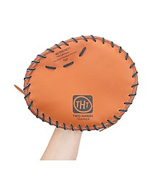 Two Hands Trainer Pancake Style Training Ball glove