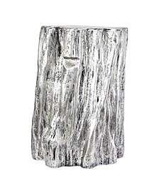 American Art Decor Tree Trunk Stool End Table