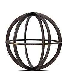 American Art Decor Orb Dyson Sphere Sculpture Figurine Table Top Home Decor Accessory
