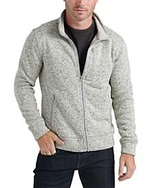 Men's Miles Zip-Front Sweater