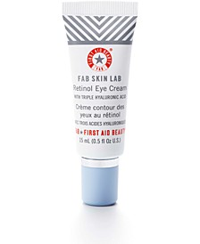 FAB Skin Lab Retinol Eye Cream With Triple Hyaluronic Acid, 0.5-oz.