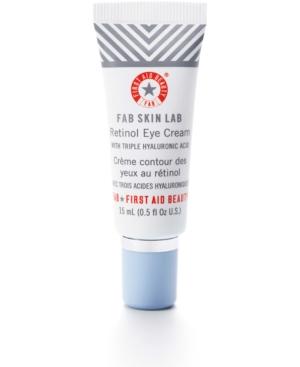 Fab Skin Lab Retinol Eye Cream With Triple Hyaluronic Acid