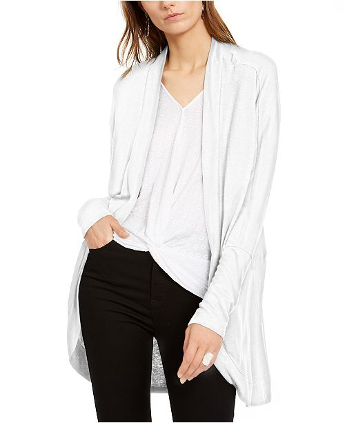 INC International Concepts INC Dolman Ribbed Cozy Top, Created For Macy's