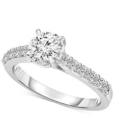 Solitaire Engagement Ring (1 ct. t.w.) in 14k White Gold