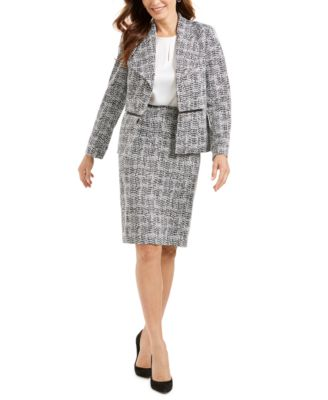 Jacquard Pencil Skirt