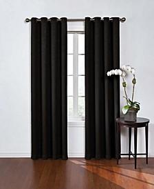 "Geometric Print Thermaweave Blackout 52"" x 108"" Curtain"