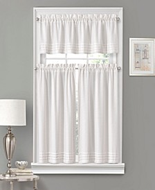 Vue Window Solutions Kingsbury 52'' x 63'' Pleated Tier Pair
