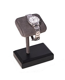 Single Watch Display Stand with Suede Cushion