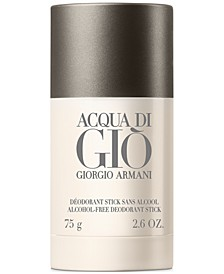 Receive a FREE Acqua Di Gio Deodorant with any Men's Large Spray or Jumbo purchase. A $22 Value!