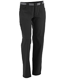 EMS® Women's Compass 4-Way Stretch Trek Pants with Removable Belt