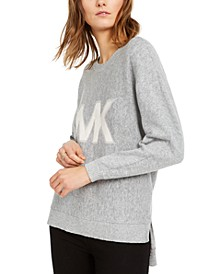 Logo High-Low Sweater, Regular & Petite SIzes