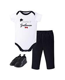 Baby Bodysuit, Pants and ShoesSet