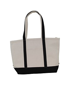 Heavy 24 Oz Medium Boat Tote