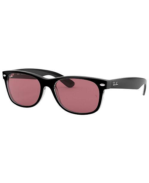 Ray-Ban Sunglasses, RB2132 52 NEW WAYFARER