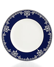 Marchesa by Lenox Dinnerware, Empire Indigo Dinner Plate