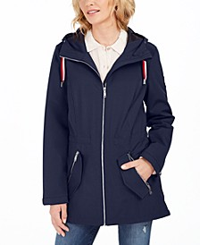 Hooded Water-Resistant Anorak Jacket
