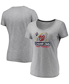 Women's Washington Nationals World Series Champ Locker Room T-Shirt