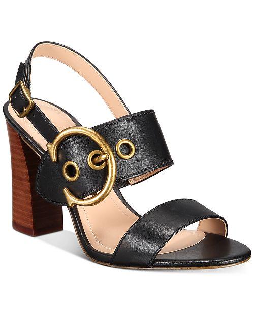 COACH Women's Robin Dress Sandals